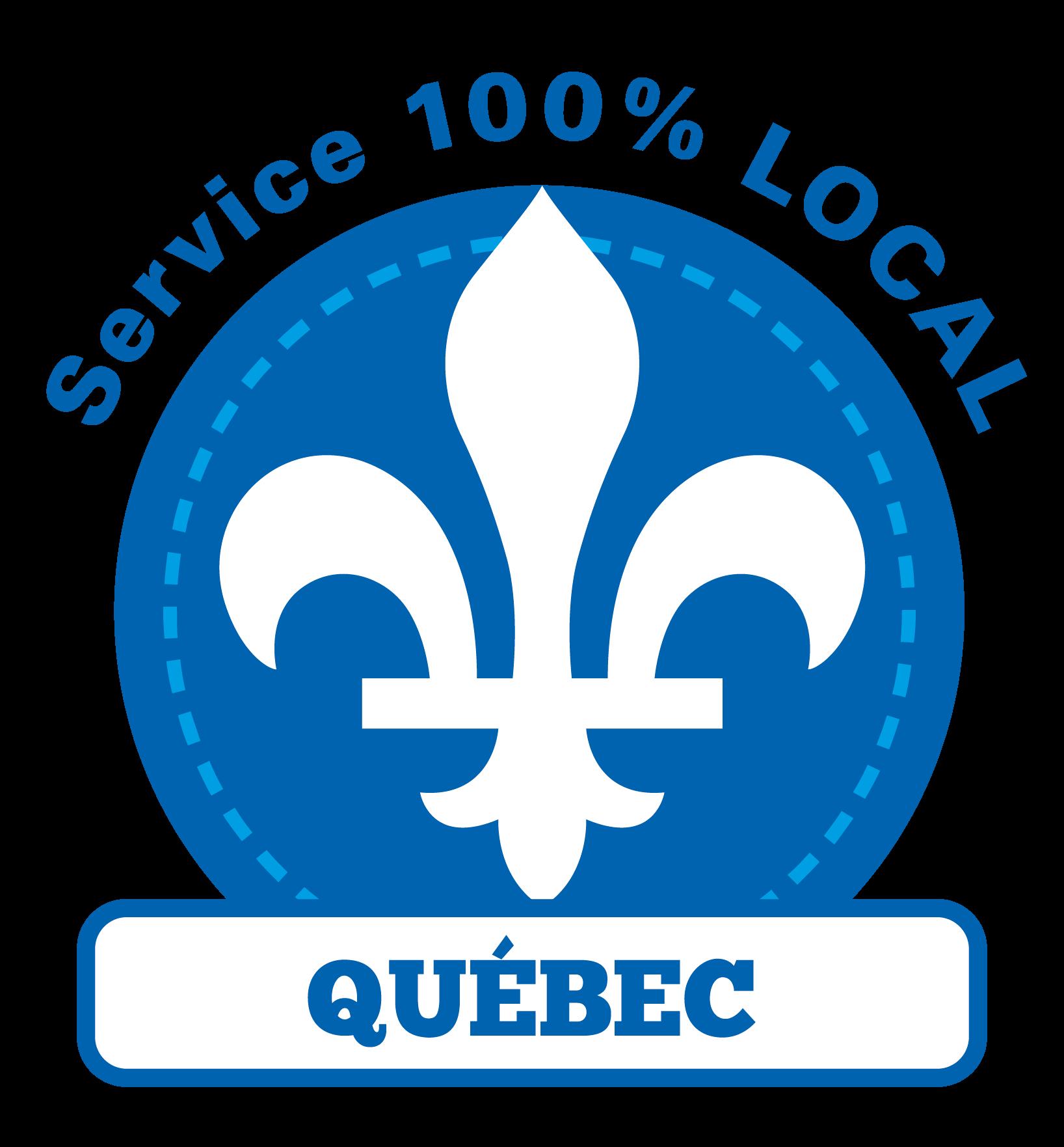 Service 100% local